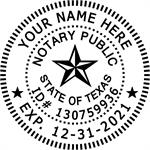 TX SEAL STAMP