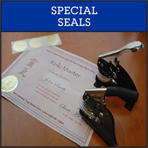 Special Seals for Reiki, Library Book Embossing, Weighmasters