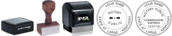Kentucky Notary Seal Stamp