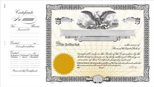 goes N1 Corporation Stock Certificates