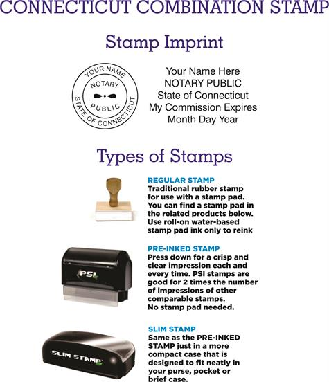 connecticut notary supplies