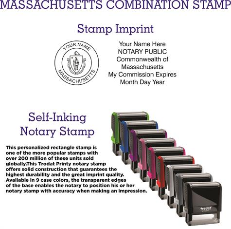Massachusetts Notary Supplies And Stamps