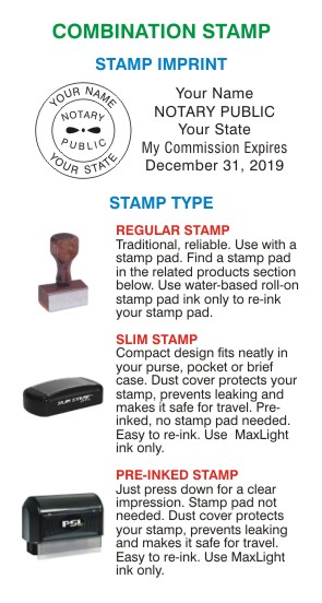 notary stamp, notary name expiration stamp, notary seal stamp