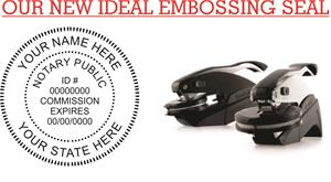 Notary Embossing Seal (ID#)