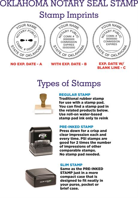 Notary Stamp Seals Oklahoma